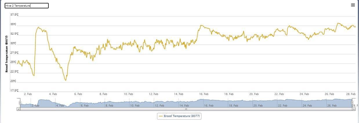 Hive 2 - Temperature (Feb 21)
